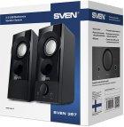 Акустическая система Sven 357 USB Black (00410089) - изображение 7