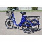 Електровелосипед (трицикл) Skybike 3-Cycle синій - зображення 4