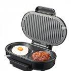 Гриль-котлетница электрическая для гамбургеров 900Вт 23х14.5см Livstar Black (LSU-1277) - зображення 4