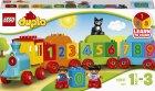 Конструктор LEGO DUPLO Поезд Считай и играй 23 детали (10847) - изображение 1