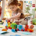 Конструктор LEGO DUPLO Поезд Считай и играй 23 детали (10847) - изображение 3