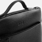 Мужская сумка кожаная Bond SHI1418-281 Черная (2900000132634) - изображение 4