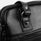 Мужская сумка кожаная Bond SHI1418-281 Черная (2900000132634) - изображение 7