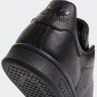 Кеды Adidas Originals Stan Smith M20327 55 (19UK) 37.5 см Black1/Black1/Black1 (4055008169712) - изображение 7