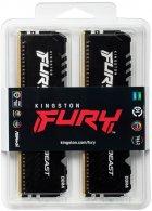 Оперативная память Kingston Fury DDR4-3000 131072MB PC4-24000 (Kit of 4x32768) Beast RGB Black (KF430C16BBAK4/128) - изображение 3