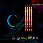 Оперативная память Kingston Fury DDR4-3000 131072MB PC4-24000 (Kit of 4x32768) Beast RGB Black (KF430C16BBAK4/128) - изображение 5
