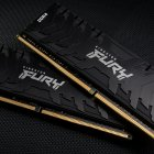 Оперативная память Kingston Fury DDR4-3000 131072MB PC4-24000 (Kit of 4x32768) Renegade Black (KF430C16RBK4/128) - изображение 5