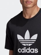 Футболка Adidas Trefoil T-Shirt GN3462 L Black/White (4064045910690) - изображение 4