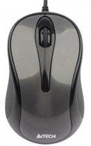 Миша A4Tech N-360-1 grey, USB V-Track - зображення 1