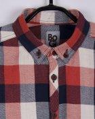 Рубашка BoGi 128 см Сине-рыжая клетка (001.064.0313.05-128) - изображение 2