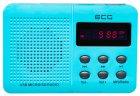 Портативний радіоприймач ECG R 155 U Блакитний - изображение 6