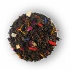 Чай зеленый листовой с кусочками фруктов, лепестками цветов и ароматом малины Lovare Ночь Клеопатры 80 г (4820097815549) - изображение 4