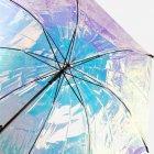 Зонт-трость женский Happy Rain U40979 Полупрозрачный хамелеон (2900000072299) - изображение 4
