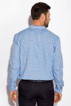 Рубашка Time of Style 511F037 S Бело-голубой - изображение 4