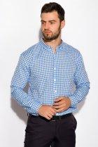 Рубашка Time of Style 511F037 XS Бело-голубой - изображение 3