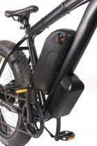 "Електровелосипед E-motion Fatbike 48V 1000 Вт 26"" чорний - зображення 4"