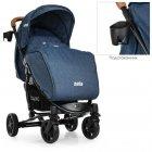 Прогулочная коляска EL Camino Zeta ME 1011L Denim Blue (ME 1011L) - изображение 2