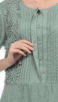 Платье Рута-С 4231лн 54 (164-108-116) Полынь - изображение 5