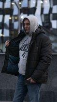 Зимняя куртка Miorichi KM-8.1 58 Хаки (m01064-green58) - изображение 3