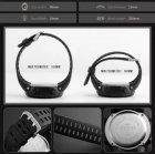 Наручные часы Skmei Amigo 1251 Черные с коричневым - изображение 11