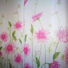 Шторка для ванної Miranda SUN PINK FLOWERS (Туреччина) рожевий 180х200 см М6029 - зображення 2
