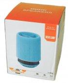 Портативна Bluetooth колонка SPS E 304T з підсвічуванням, блакитна - зображення 4