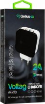 Сетевое зарядное устройство Gelius Pro Voltag QC GP-HC07 2USB 2A Black (2099900763595) - изображение 7