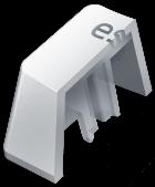 Набір кейкапів для клавіатури Razer PBT Mercury Edition 120 pcs (RC21-01490200-R3M1) - зображення 2