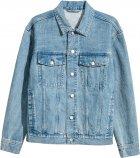 Куртка джинсовая H&M 12-4976409 XL Голубая (2000000866659) - изображение 2