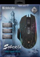 Мышь Defender Syberia GM-680L RGB USB Black (52680) - изображение 4