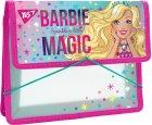Папка для зошитів пластикова на гумці Yes В5 Barbie (491561) (5056137198993) - зображення 1