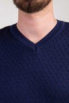 Пуловер мужской Diko 606554 XXL Синий - изображение 3
