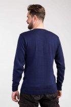 Пуловер мужской Diko 606554 XXL Синий - изображение 4