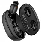 Бездротові Bluetooth стерео навушники HOCO TWS Breezy BT5.0 Hi-Res ES35 black - зображення 1
