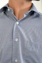 Рубашка AGER 40 Синий с белым 9021-29 - изображение 4
