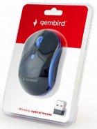 Миша Gembird MUSW-4B-03-B Wireless Black+Blue - зображення 3