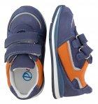 Кроссовки Perlina 4GOLORANGE р. 22 14,2 см Голубой с оранжевым - изображение 4