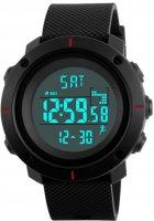 Чоловічий годинник Skmei 1215 BK-Red BOX (1215BOXBKR) - зображення 1