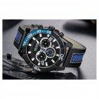 Мужские часы Megir Blue Black MG2066 (ML2066G-BK-1) - изображение 2
