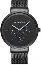 Жіночий годинник Guanqin Black-Black-Black GS19103 CS (GS19103BBB) - зображення 1