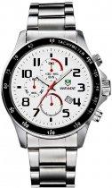 Мужские часы Weide White WH3308-2C SS (WH3308-2C) - изображение 1