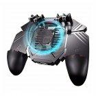 Игровой геймпад триггер MEMO AK77 с кулером охлаждения для игр на смартфоне 1200 мАч беспроводной - изображение 2