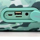 Колонка блютуз ZEALOT S29 Blue Camouflage портативна 10 Вт 2000 мАч 10 метрів USB fm-радіо, ліхтарик - зображення 5