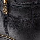 Кеды женские кожаные высокие черные Guess FLBOG4 LEA12 BLACK размер 38 - изображение 6