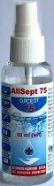 Дезінфікувальний засіб антисептик Олсепт Allsept 75 для зовнішнього застосування 50 мл (4820022242655) - зображення 3