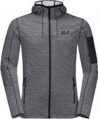 Спортивная кофта Jack Wolfskin Milford Hooded Jacket M 1708381-6000 XXL (4060477501628) - изображение 5