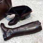 Сапоги зимние коричневые 37 H423M-G1161к Toleeao - изображение 4