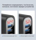 Швидка зарядка KUULAA Quick Charge 3.0 на 3 USB порту c LED індикацією - зображення 3