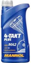 Моторное масло Mannol 4-Таkt Plus 10W-40 SL 1 л (325/1) - изображение 1