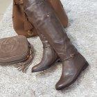Сапоги женские коричневые 36, Vallenssia, K1011-18N-47к - изображение 2